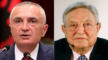 Left-wing billionaire George Soros accused by Albania's president of 'conspiracy' aimed at destabilizing country