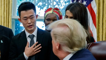 Trump tells North Korean defector he'll bring up Christian persecution in talks with Hermit Kingdom