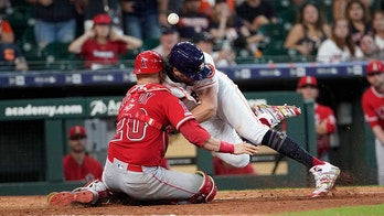 Astros' Marisnick suspended for plate collision with Lucroy