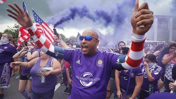 Orlando City SC fans storm empty seats to distract NYCFC during penalty kicks