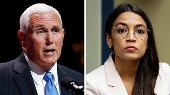 Pence rips AOC's 'concentration camp' remarks to pro-Israel group, says they're 'slander of law enforcement'