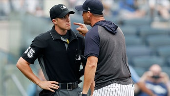 Yankees manager drops multiple F-bombs in 鈥榮avage鈥� rant against umpire