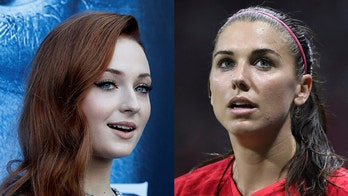 British actress Sophie Turner defends Alex Morgan 鈥榮ipping tea鈥� during World Cup: 鈥業鈥檓 f---ing proud of you鈥�