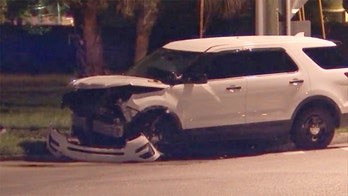 Florida officer injured after being struck by teen driving stolen car, police say