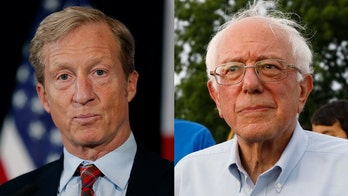Sanders reacts to Steyer's 2020 bid: 'Tired of seeing billionaires trying to buy political power'