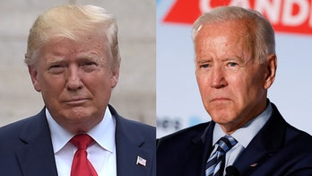 Joe Biden demands Trump release his tax returns or 'shut up' about corruption