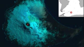 Extremely rare lava lake discovered on remote South Atlantic volcano