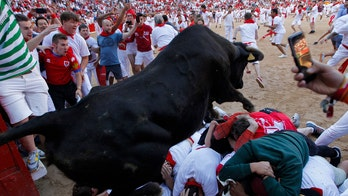 Runners complain Spain's running of the bulls has become lackluster over protective measures