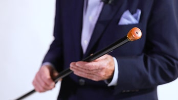 Titanic survivor's unusual light-up walking stick is up for auction