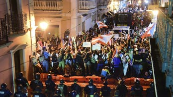 Puerto Rico's governor goes AWOL as protesters gather outside his residence, US officials call to step down