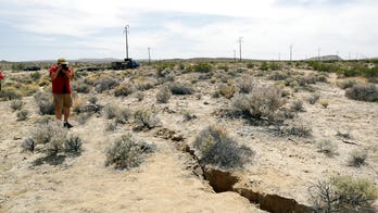 Massive California earthquakes could be seen from space