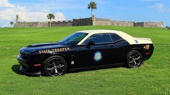 Dodge Challenger cop car adds muscle to the Florida Highway Patrol fleet