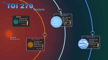 NASA finds three alien planets, including the 'missing link'