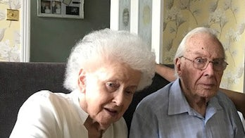 Widow died of 'broken heart' just days after 93-year-old husband: 'She was lost without him'