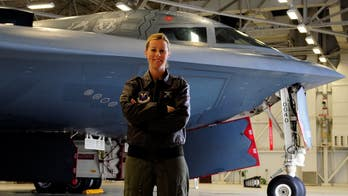 How one woman learned to fly the B-2 stealth bomber