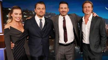 Margot Robbie, Brad Pitt and Leonardo DiCaprio 'cut through' Jimmy Kimmel monologue