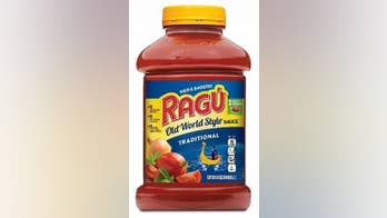 Ragu pasta sauces recalled over possible plastic in products