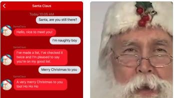 Scary 'Santa' app sends inappropriate message to young girl, family says