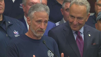 Watch: Jon Stewart delivers emotional speech after Senate approves bill for 9/11 victims' fund