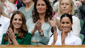 Meghan Markle and Kate Middleton attend Wimbledon final for second year in a row