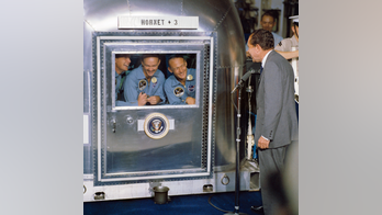 Apollo 11's Michael Collins recounts the crew's three-week quarantine on their return from the Moon