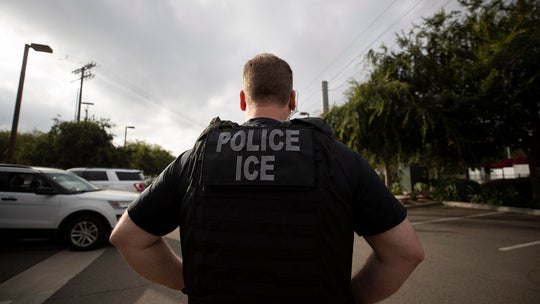 Rhode Island guard resigns after video shows truck driving into anti-ICE protesters