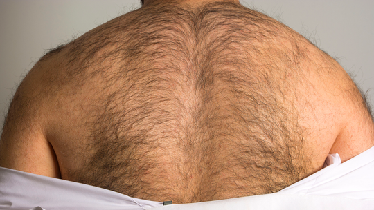 Half of all men are ashamed of their body hair, survey suggests