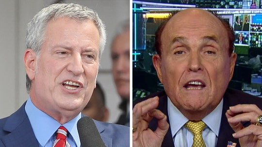 Giuliani says attacks on NYPD cops a product of 'incompetent' de Blasio