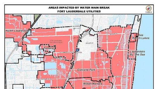 Fort Lauderdale restores much of its water service, urges people to boil water