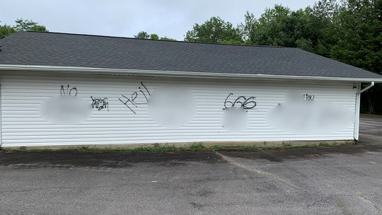Tennessee church vandalized with racial slurs, images of male genitalia