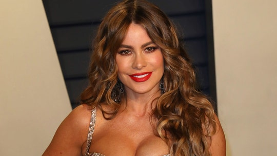 Sofia Vergara shares a throwback video of herself as a blonde from early modeling days