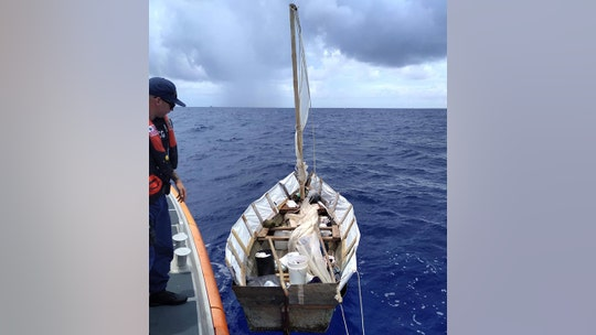 Five Cubans discovered on makeshift sailboat in Florida Keys, US Coast Guard says