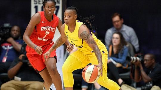 WNBA suspends LA Sparks' Riquna Williams 10 games for domestic violence