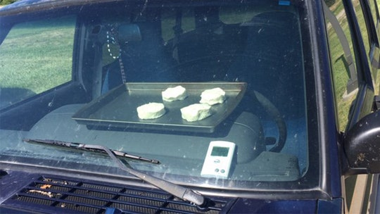 Biscuits start baking inside hot car in Nebraska as part of weather experiment