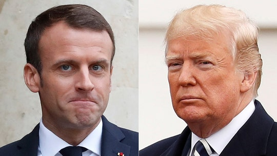 Trump jabs Macron to French reporter: 'Maybe we have a better president than you do'