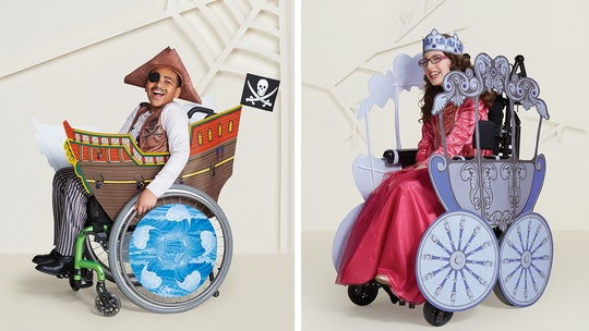 Target unveils wheelchair-friendly Halloween costumes for kids
