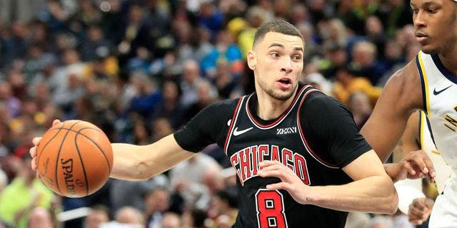 Zach Lavine gears up for another season with the Bulls.