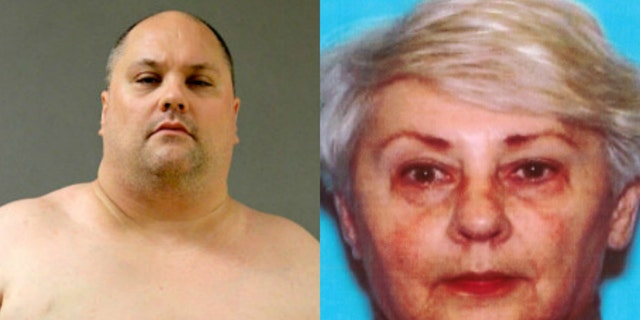 David Krystyniak is accused of fatally stabbing his 74-year-old mother with a sword.