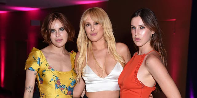 The Willis sisters: Tallulah, Rumer and Scout. (Presley Ann/VMN18/Getty Images For Comedy Central)