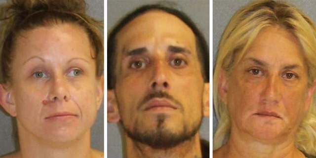 Dana LaFlamme, 34, Migdalia Cruz, 59, and Luis Correa, 39, were arrested on various drug charges Tuesday.