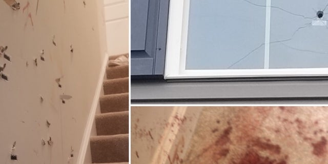 A Virginia family says a exposed lady pennyless into their home a initial night they changed in.