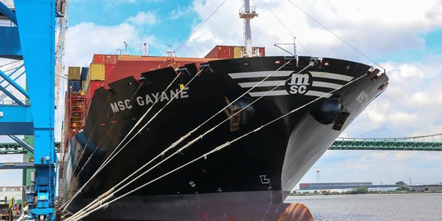 U.S. Customs and Border Protection seized the MSC Gayane on July 4 in Philadelphia after authorities found nearly 20 tons of cocaine on board last month.