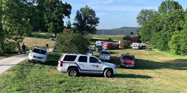 First responders were called to a Missouri pond where a 7-year-old drowned and her mother suffered serious injuries after the car she was driving ended up in the water on Saturday, investigators said.
