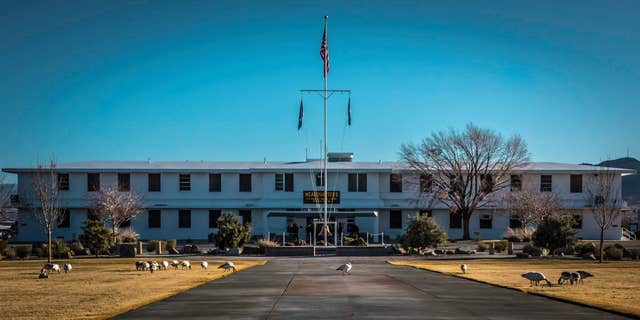 Naval Air Weapons Station China Lake, in Ridgecrest, Calif. (Facebook)