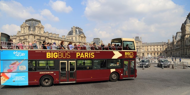 Some government officials are reportedly hoping to ban the mass transit vehicles from Paris' city center, citing overtourism concerns.