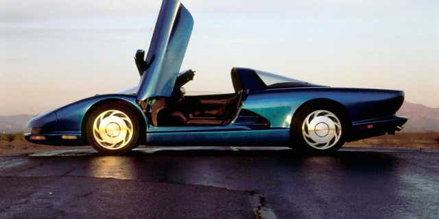 The 1990 CERV III was a finalist to become the fifth-generation Corvette.