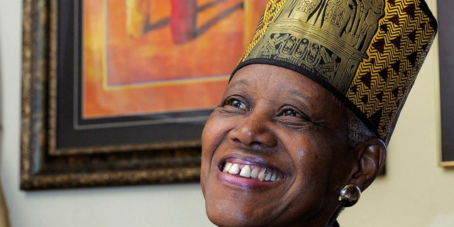 In this Feb. 17, 2010, photo, Sadie Roberts-Joseph, founder of the Odell S. Williams Now and Then Museum of African-American History, now known as the Baton Rouge African-American History Museum, poses for a portrait.