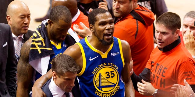 Westlake Legal Group AP19162084006439 Kevin Durant left Warriors because fans didn't appreciate him: report fox-news/sports/nba fox news fnc/sports fnc Bradford Betz article 3a7241de-9305-51cb-adab-6b6805d34270