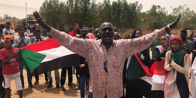 Tens of thousands of protesters have taken to a streets in Sudan's collateral and elsewhere in a nation job for municipal order scarcely 3 months after a army forced out long-ruling tyrant Omar al-Bashir. AP Photo/Hussein Malla)