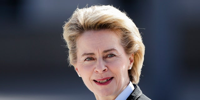 Ursula von der Leyen, a surprise choice to become the next head of the European Commission, is a strong supporter of closer European cooperation who has been Germany's defense minister since 2013.(AP Photo/Markus Schreiber, file)